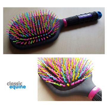Tail Tamer - Rainbow Paddle Brush
